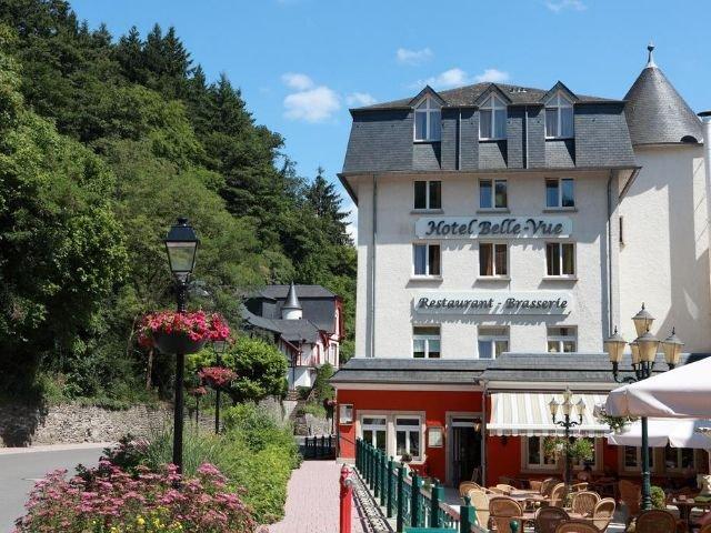 hotel belle vue - vooraanzicht
