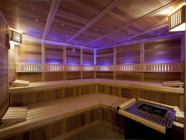 hotel belle vue - sauna