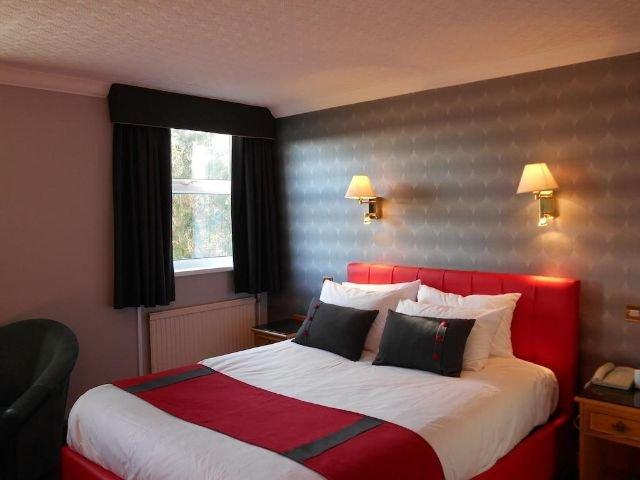 Wales - Carmarthern - Ivy Bush Hotel - Voorbeeldkamer
