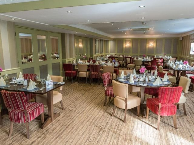 Wales - Carmarthern - Ivy Bush Hotel - Restaurant