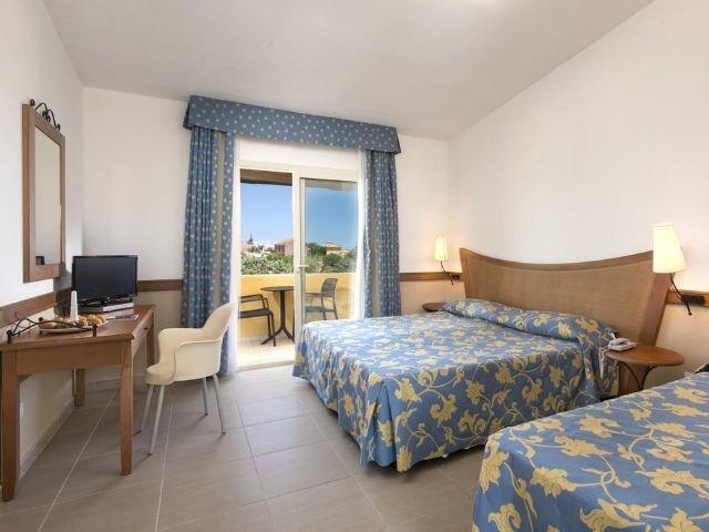 San Teodoro - Hotel San Teodoro **** - voorbeeldkamer