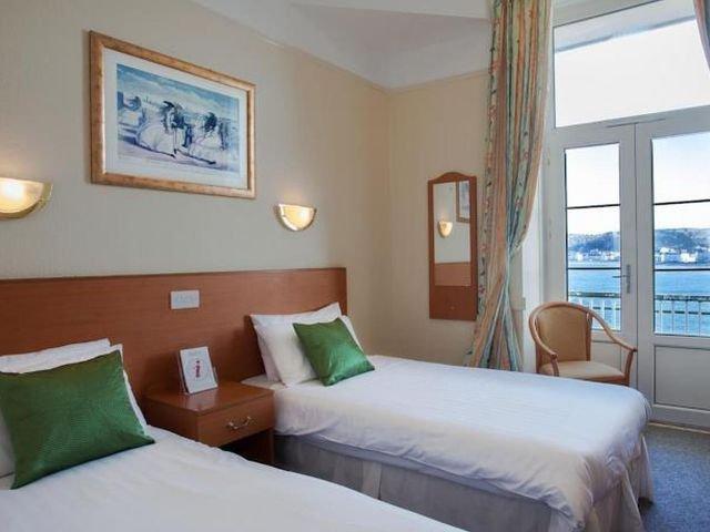 Wales - Llandudno - The Grand Hotel - Voorbeeldkamer