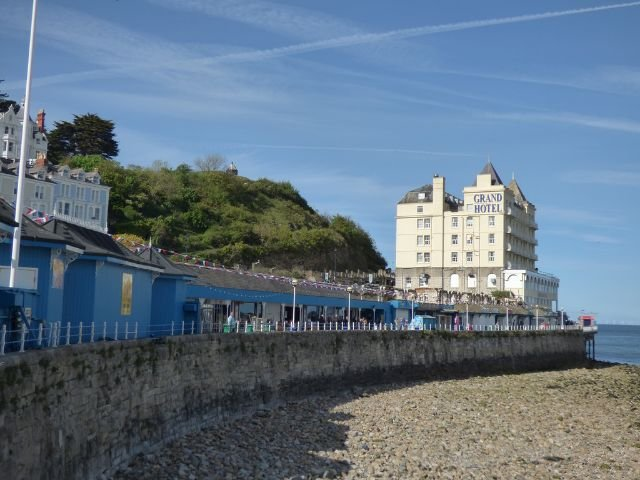 Wales - Llandudno - The Grand Hotel - Buitenzijde