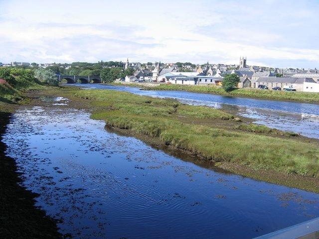 Schotland - Thurso - River Thurso