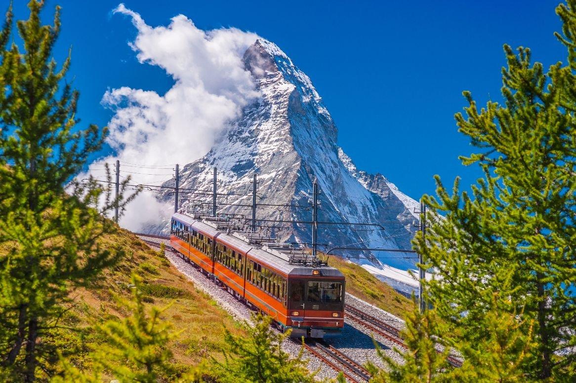 Busreis Zwitserse Alpen