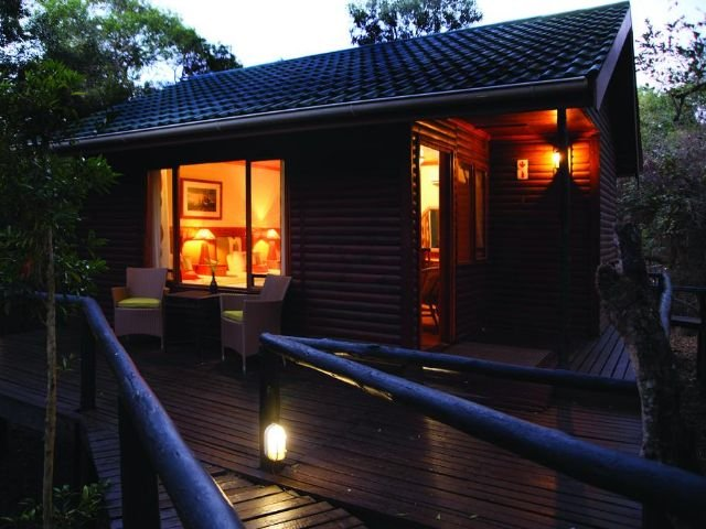 gooderson bushlands game lodge - vooraanzicht