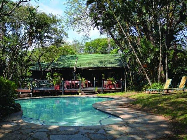 gooderson bushlands game lodge - zwembad