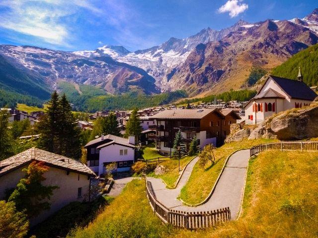 Zwitserland - Saas-Fee