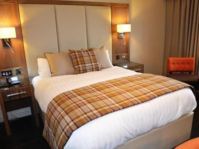 Schotland - Larkhall - Radstone Hotel - voorbeeldkamer