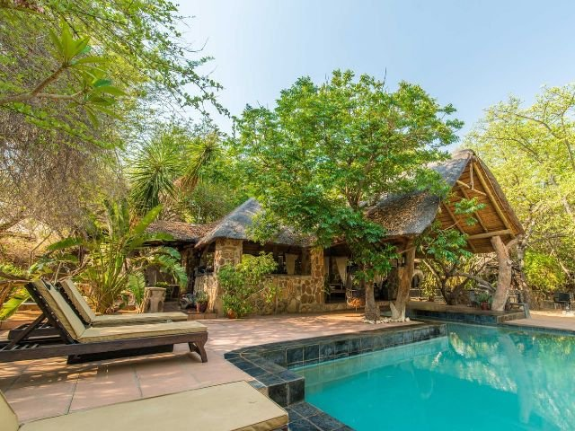 ezulwini game lodges - zwembad