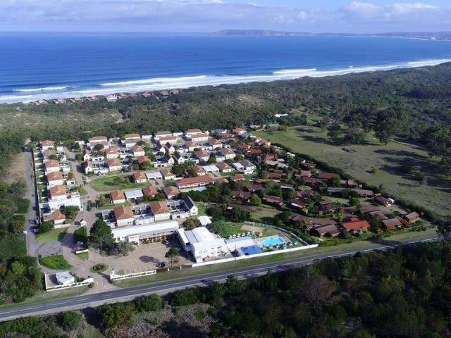 the dunes hotel & resort - bovenaanzicht