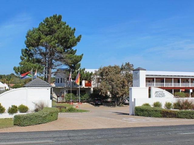 the dunes hotel & resort - vooraanzicht