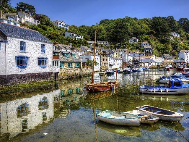 Engeland - Cornwall - Haven Polperro