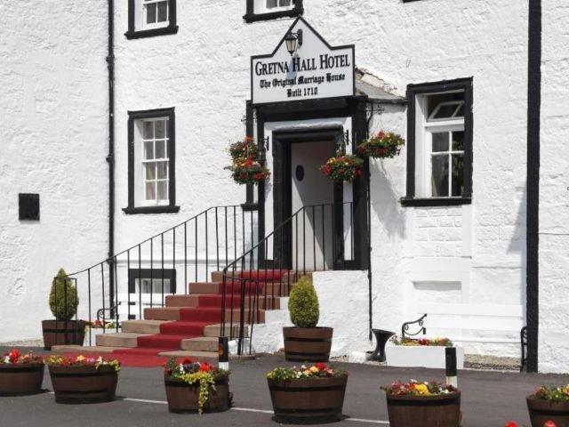 Groot Brittannië - Schotland - Gretna Green - Grenta Hall Hotel - Lobby