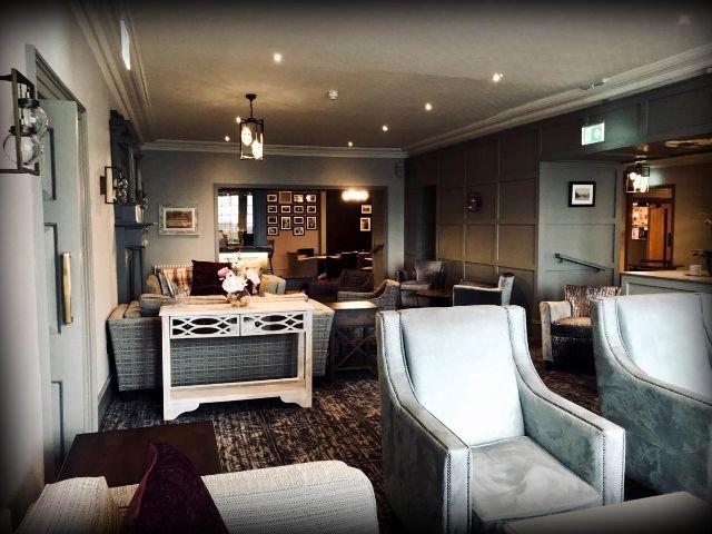 Groot Brittannië - Schotland - Gretna Green - Grenta Hall Hotel - Voorbeeldkamer