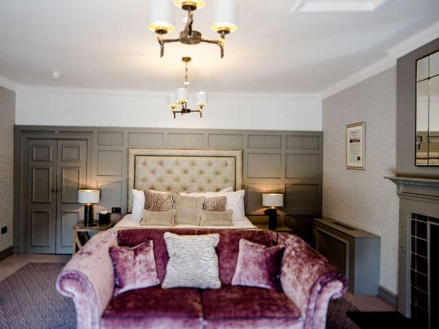 Groot Brittannië - Schotland - Gretna Green - Grenta Hall Hotel - douche