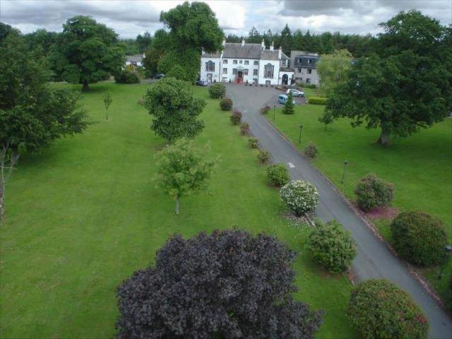 Groot Brittannië - Schotland - Gretna Green - Grenta Hall Hotel -  exterieur