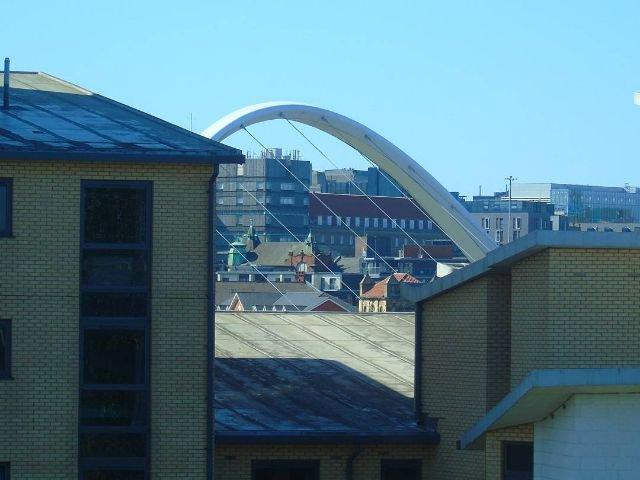 Groot Brittannië - Newcastle upon Tyne - Ramada Encore Newcastle-Gateshead - uitzicht op Newcastle en Gateshead Brug