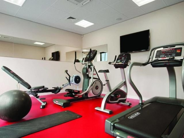 Groot Brittannië - Newcastle upon Tyne - Ramada Encore Newcastle-Gateshead - fitness ruimte