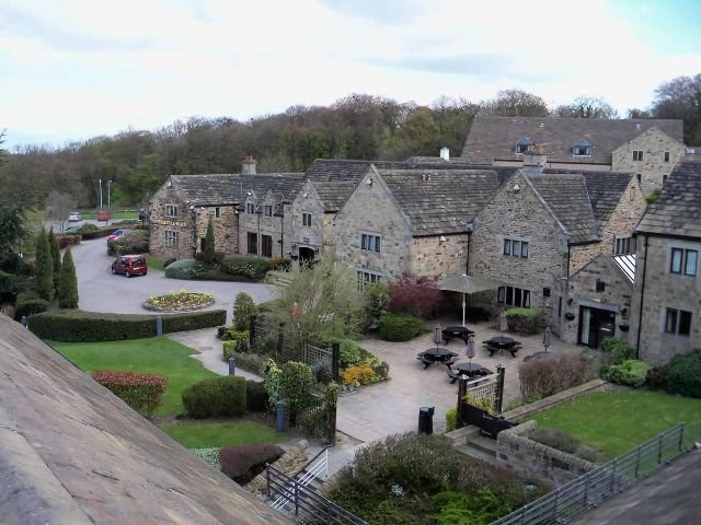 Groot Brittannië - Sheffield - Tankersley Manor Hotel - Exterieur