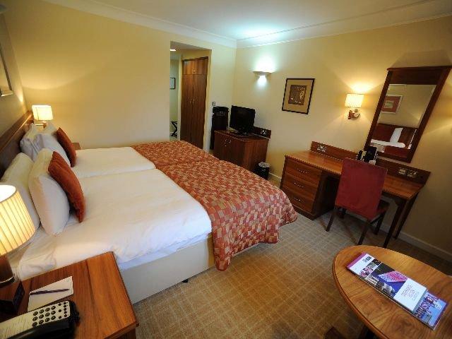 Groot Brittannië - Sheffield - Tankersley Manor Hotel - Voorbeeldkamer