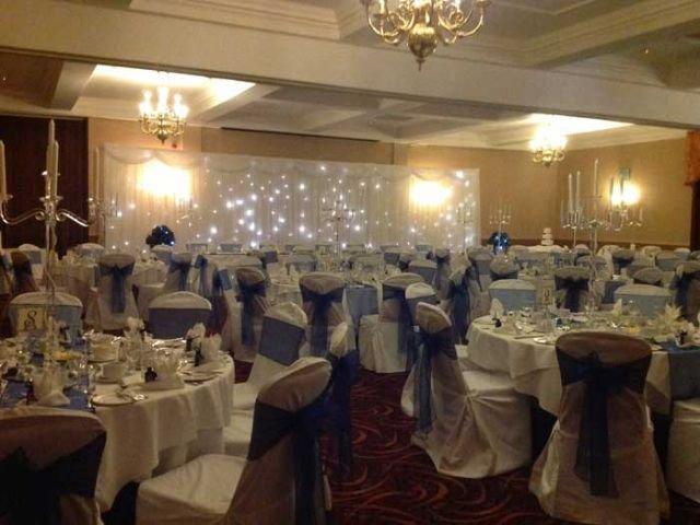 Groot Brittannië - Sheffield - Tankersley Manor Hotel - Restaurant