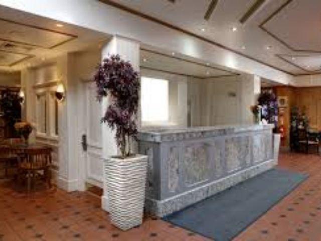 Groot Brittanië - Gravesend - Best Western Manor Hotel - receptie