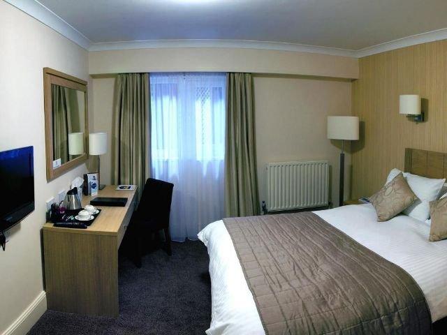 Groot Brittanië - Gravesend - Best Western Manor Hotel - voorbeeldkamer