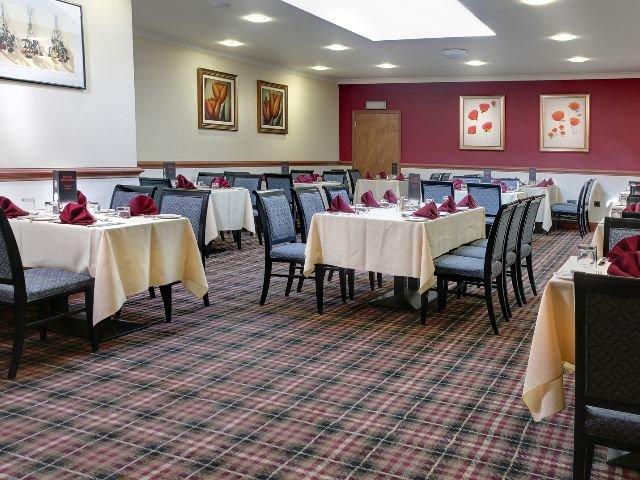 Groot Brittanië - Gravesend - Best Western Manor Hotel - restaurant