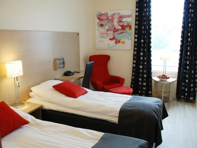 Noorwegen - Setesdal - Revsnes Hotel Byglandsfjord - voorbeeldkamer