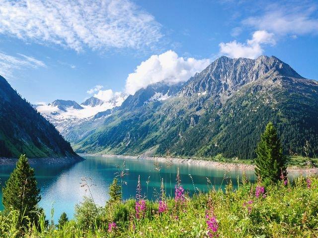 Oostenrijk - Zillertal - Schlegeis Stausee
