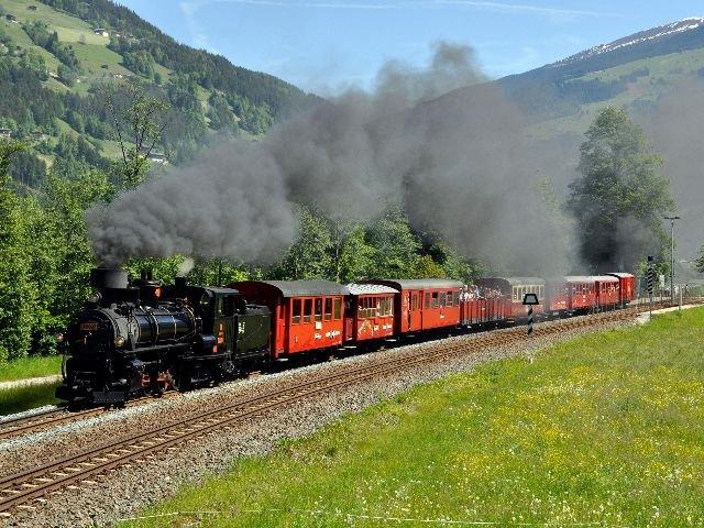 Oostenrijk - Zillertal - Stoomtrein