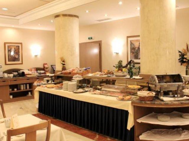 Spanje - Pamploa - Hotel Albret - restaurant