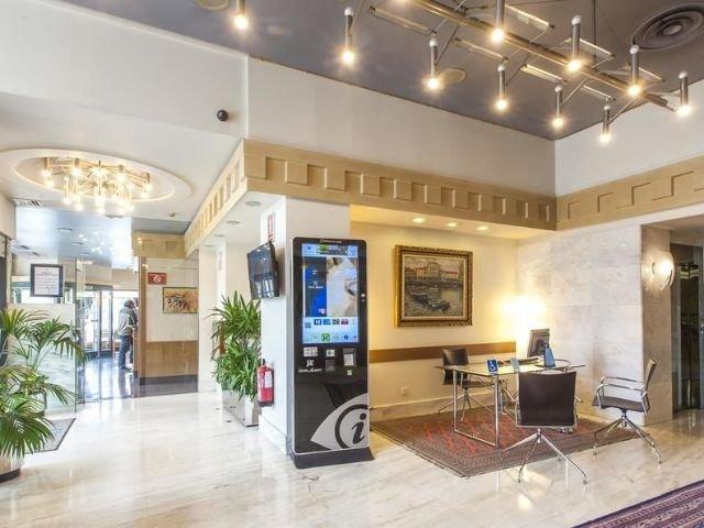 Spanje - Pamploa - Hotel Albret - receptie