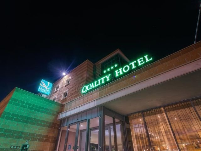 Monterotondo Scalo - Quality Hotel Green Palace **** - aanzicht