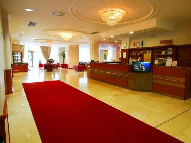 Ohrid - Hotel Metropol **** - receptie