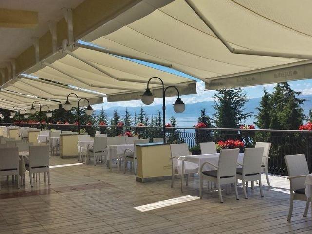 Ohrid - Hotel Metropol **** - terras
