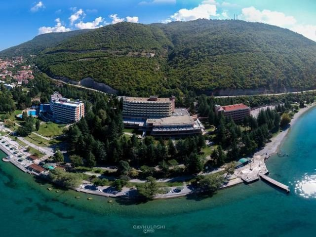 Ohrid - Hotel Metropol **** - aanzicht