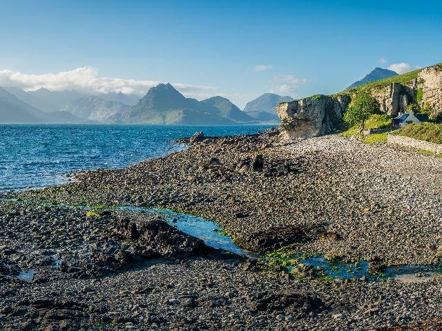 Groot Brittannië - Schotland - Isle of Skye - Loch Skavaig