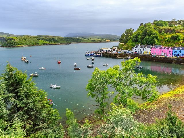 Groot Brittannië - Schotland - Isle of Skye - Portree