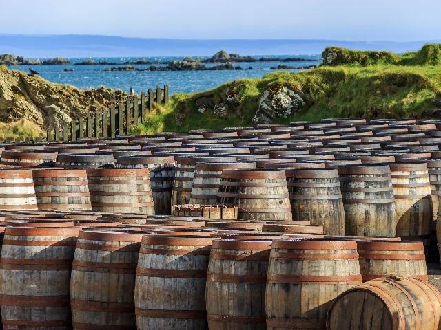 Groot Brittannië - Schotland - Isle of Islay - whisky distileerderij