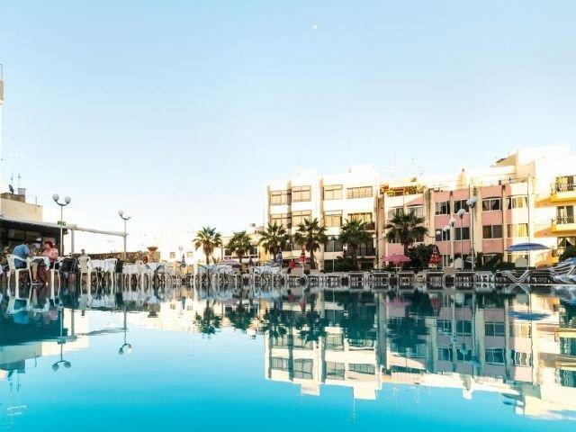 Bugibba - Hotel Topaz *** - zwembad