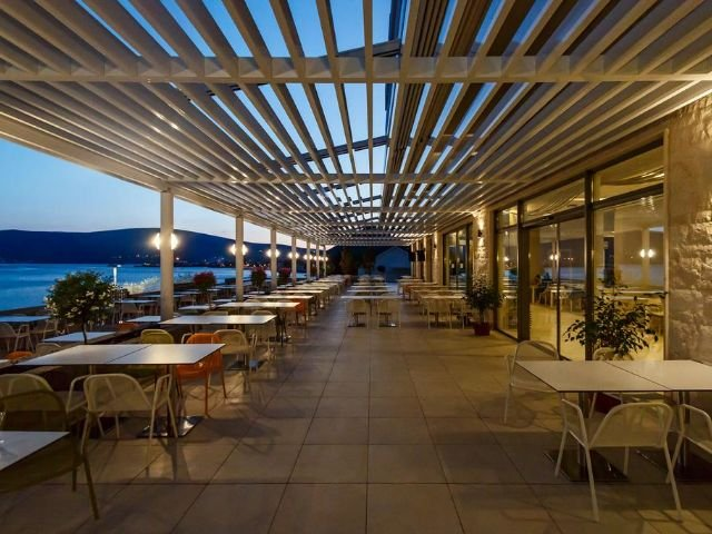 Bijela - Hotel Park **** - terras