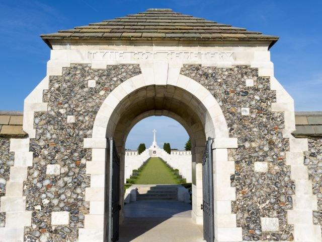 Tyne Cot Britisch Cemetery