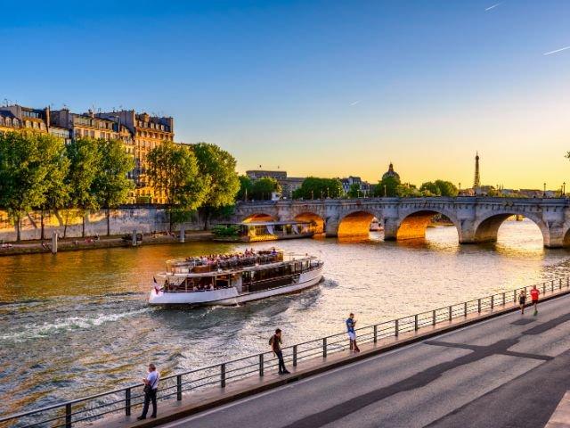 Parijs vanaf de Seine
