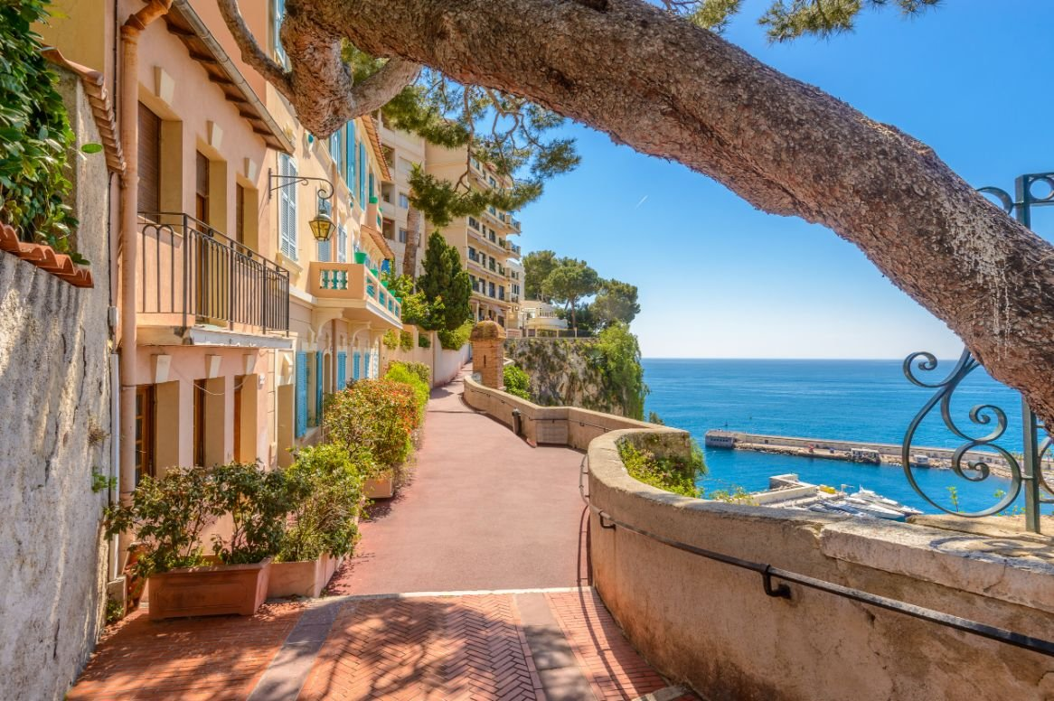 Monaco straatbeeld