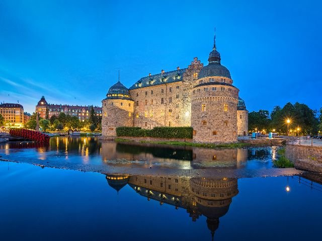 Zweden - Örebro - Slott Örebro