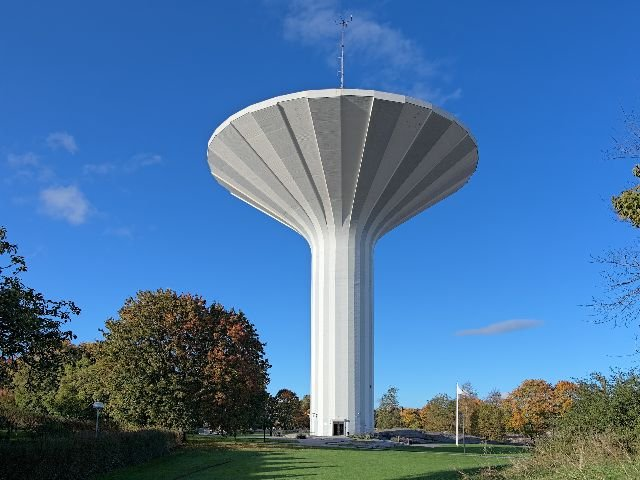Zweden - Örero - watertoren Swampen