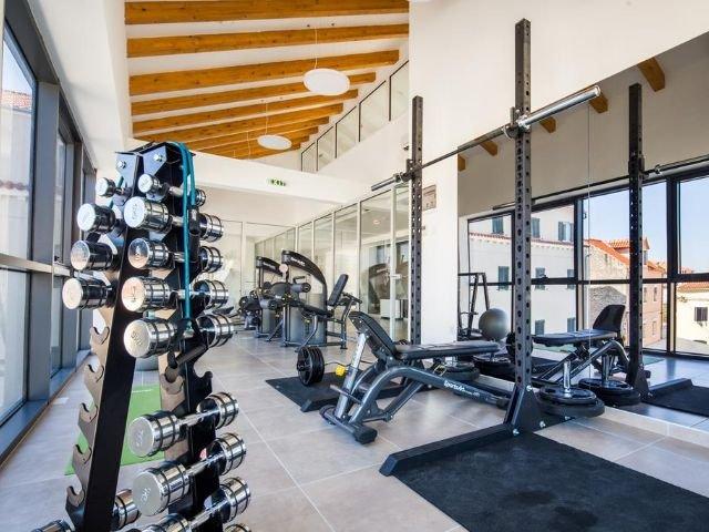 Tisno - Hotel Borovnik **** - fitnessruimte
