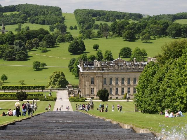 Engeland - Tuinenreis Yorkshire & Peak District - chatworth house